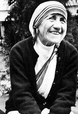 Mother Teresa Poster, Smiling, Humanitarian, Christian Missionary
