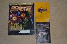 Nintendo Power Vol 137 OCTOBER 2000 ZELDA MAJORA'S MASK BATMAN BEYOND POSTER