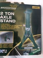 Pair of 2 Ton Axle stands