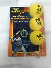Mike Piazza Power Hitter Nerf Refill Pack Vintage 2001 Rare Sealed New