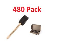 "480 Jen 1"" Poly Foam Brush - Bulk Package & Free Shipping!"