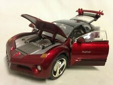Pontiac Rageous, Collectibles, Diecast 1:24 Scale, MotorMax Toys Burgundy