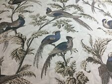 "1 yard x 54"" Braemore  Bird   Home Decorator Fabric"