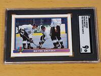 1991 Bowman Pre-Production Sample Wayne Gretzky SGC 9 Low Pop