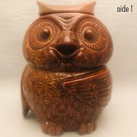 "McCoy Pottery Woodsy the Brown Owl Cookie Jar 204 USA 10"" Tall"
