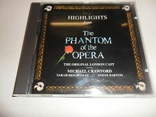 CD Highlights from the Phantom of the Opera (orig. London Cast)