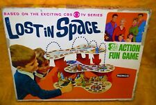 1966 Lost In Space Remco 3D game vintage very rare incomplete Nice Box have wear