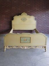 Antique Full Bed / Double Bed Frame / Vintage Full Bed / Shabby Cottage Chic Bed