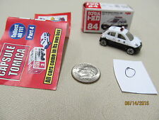 Tomica Capsule Pocket Cars #84 Nissan March Patrol Police Car MIB US Seller
