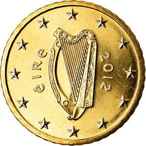 [#792808] IRELAND REPUBLIC, 50 Euro Cent, 2012, Sandyford, SPL, Laiton, KM:49