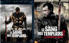 LE SANG DES TEMPLIERS 1 et 2 .......... BLURAY
