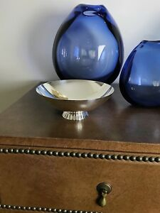 GEORG JENSEN Sterling Silver Bowl Designed by SIGVARD BERNADOTTE, VGC