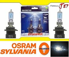 SYLVANIA SILVER STAR 9006XS HB4A 55W 2 TWO BULB PERFORMANCE UPGRADE HEAD LIGHT