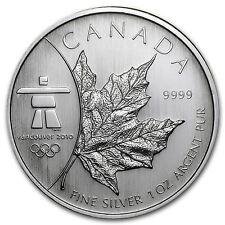 2008 Royal Canadian Mint | Olympic Inukshuk | 1 oz .9999 Fine Silver BU