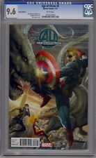 AGE OF ULTRON #8 - CGC 9.6 - 7TH ORANGE VARIANT - 0232514009