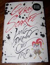 GERALD SCARFE LONG DRAWN OUT TRIP SIGNED HARDBACK BOOK THE WALL PINK FLOYD - ART
