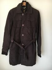 Boxfresh Size 10 Brown Cotton Lined Coat Winter <T8207