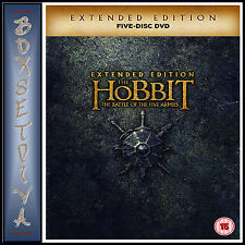 THE HOBBIT: THE BATTLE OF THE FIVE ARMIES - EXTENDED EDITION  *BRAND NEW DVD***