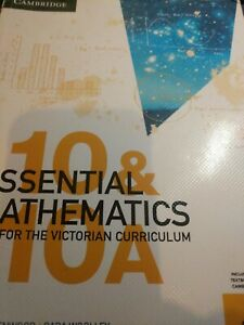 Cambridge Essential Mathematics 10 & 10A for the Victorian Curriculum Textbook