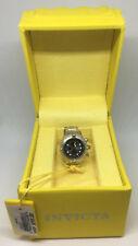 Invicta 13813 Silver-tone Black Dial Mini Watch Collection Sub Aqua Desk Clock