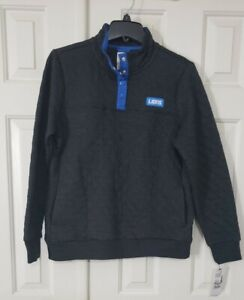 NFL Detroit lions Women's Quilted Knit Pullover, Team Apparel.