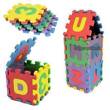 36Stk Lernspielzeug Kinder ABC oder Zahlen Puzzlematte Puzzle Matte Alphabet Neu