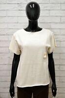 Maglia MARIE FRANCOISE Donna Taglia XL Maglietta Shirt Woman Manica Corta Cotone