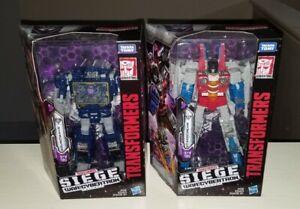 Transformers War for Cyberton Siege Soundwave Rumble Wingthing Starscream Decals