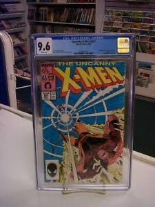 UNCANNY X-MEN #221 (Marvel Comics, 1987) CGC Graded 9.6! ~ White Pages