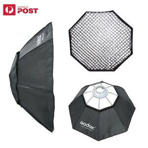 Godox 95cm Octagon Softbox with Honeycomb Grid for Studio Flash Bowens Mount