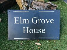 Extra Large Engraved Slate House Sign High Quality 50 X 30cm