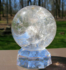 Quartz Sphere / Crystal Ball with Rainbow