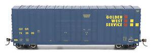 InterMountain HO-Scale 50ft Gunderson High-Cube Box Car Golden West Service/GWS