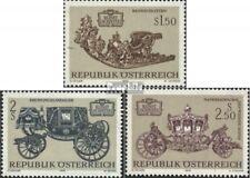 Austria 1406-1408 (complete issue) FDC 1972 Treasures