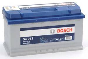S4 013 BOSCH CAR BATTERY 12V 95AH TYPE 019 S4013 800AMP