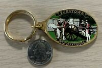 Yorktown Virginia Victory Center Travel Souvenir Metal Keychain Key Ring #37999