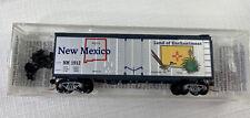 Micro-Trains 21376 N New Mexico State Car 40' Standard Boxcar, Plug Door NIB