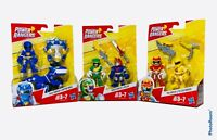 Power Rangers two pack Action Figure Lot of 3 Blue Green Red Yellow Ranger 🔥