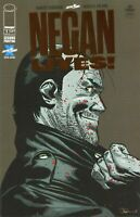 2020 WALKING DEAD: NEGAN LIVES #1 IMAGE COMICS BRONZE VARIANT 2nd PRINT FOIL