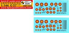Mark I Decals 1/144 SPANISH AIR FORCE INSIGNIA Modern Roundels