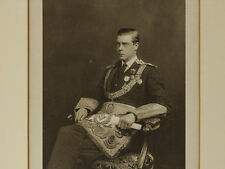 c1927 Edward VIII in Masonic Regalia Framed Photograph