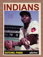 Satchel Paige '48 Cleveland Indians Monarch Corona Private Stock #18 mint cond