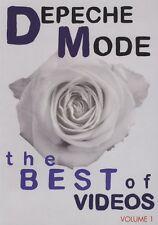 DEPECHE MODE The Best of Volume 1 DVD 2007