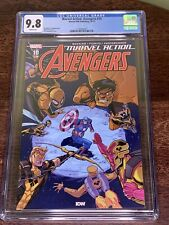 Marvel Action Avengers 10 CGC 9.8 1st Appearance Yellow Hulk (or is it 9?)