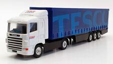 Corgi 1/64 Scale Diecast 59572 - Scania Curtainside Truck - Tesco