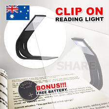 Flexible LED Reading Light For Kindle Kobo E-Reader Lamp On Book Slim Booklight