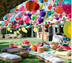 Mini Festival Decorations / Vintage Garden Festival / Celebration / Party Decs