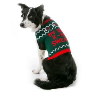 """Top Paw Pet Holiday """"My Ugly X-mas Sweater"""" Dog Sweater Large NWT"""