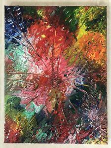 Ballogletti 'Apertura' Moderne Kunst Ölgemälde Modern Art Oil Painting Rarität