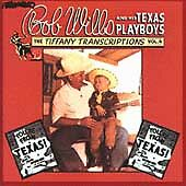 Tiffany Transcriptions, Vol. 4 by Bob Wills and His Texas Playboys (CD,...